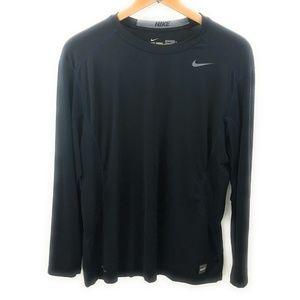 Nike Pro Combat Dr-Fit Mens Long Sleeve Shirt, XL